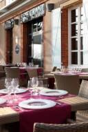 La terrasse de notre Hotel Restaurant
