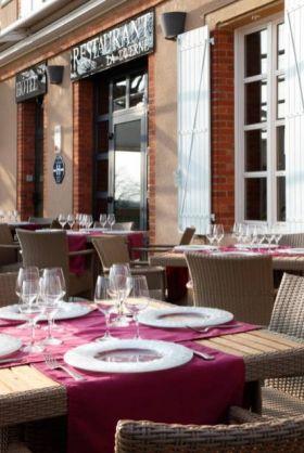 restaurant gastronomique La terrasse de notre Hotel Restaurant